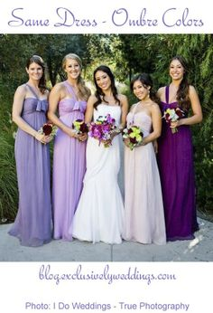 Bridesmaid Dresses - Eight Awesome Options | See more  http://blog.exclusivelyweddings.com/2014/03/17/bridesmaid-dresses-eight-awesome-options/