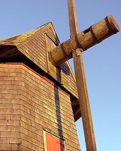 The Godfrey Windmill in Chathams Chase Park. (Mass.) Photo by John Fitts.