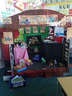 Toy shop role play