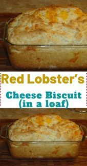 CopyCat Recipe for Red Lobsters Cheese Bisquits. black pepper 4 ounces cheddar cheese, cut into inch cubes 1 cups milk cup sour Biscuit Bread, Biscuit Recipe, Red Lobster Cheese Biscuits, Cheddar Cheese, Cheese Bread, Red Lobster Bread, Bread Machine Recipes, Brunch, Ciabatta