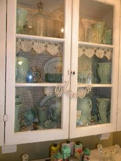 Cheryls * Cottage * Home: Wall Cabinet Makeover!!