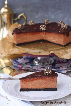 Blog Bo(ro)n Appétit: Sernik czekoladowy