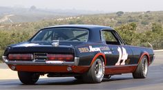 1967 Mercury Cougar Trans Am Race