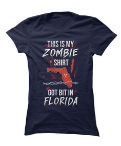 The best tee for zombie lovers in CA! Cute Zombie, Zombie T Shirt, Favorite Tv Shows, Crew Neck Sweatshirt, Fans, Lovers, T Shirts For Women, Mens Tops, Awesome