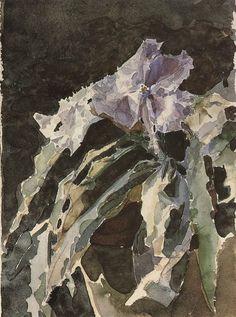 Михаил Александрович Врубель. Орхидея. Этюд