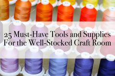 Who knew? We've rounded 25 of the best deals you can find on craft and sewing supplies on +eBay  plus a peek at a few projects from our #PrettyPrudentHome book (out tomorrow!) #AD