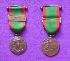 Medalha Campanhas do Exercito Português 1914-18 (Moçambique).