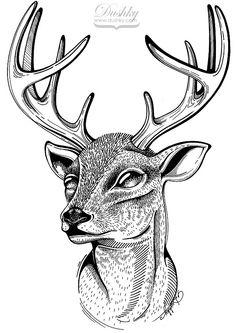 Oh Deer 1 By Dushky by dushky.deviantart.com on @deviantART