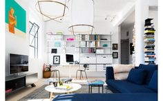 The Bright Office-on-a-Wall Workspace