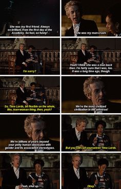 Doctor Who World Enough and Time. Twelfth Doctor Peter Capaldi Bill Potts Pearl Mackie