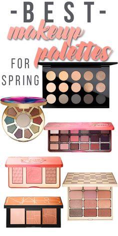 Best Makeup Palettes for Spring