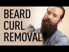 Remove The Beard Wave With Jeff Buoncristiano | Beardbrand - YouTube