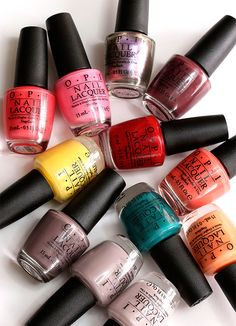The OPI Brazil collection, available now