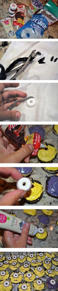 Evil Minion Cupcake Cakes Despicable Me Minions