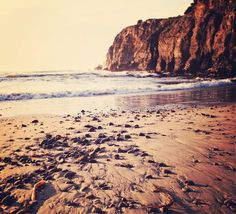 Beach Photography, seascape, sunset, California, by ScarlettElla  via Etsy. #fpoe