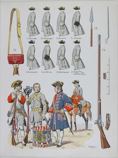 French Uniforms, by Lucien Rousselot.
