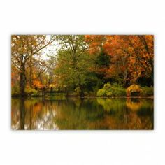 Across The Lake Wood Print $30.00 - $260, depending on size of print purchased.