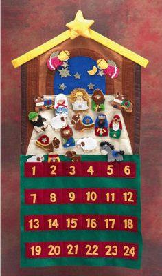 I might have to order this ... the true countdown in preparation for Christmas.