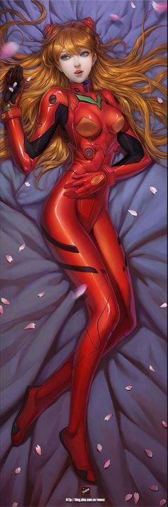 Evangelion Style - Asuka by by Chen *