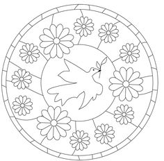 Archivo de álbumes Embroidery Works, Embroidery Motifs, Painting Patterns, Fabric Painting, Coloring Sheets, Coloring Books, Diy Tie Dye Shirts, Sacred Symbols, Mandala Coloring Pages