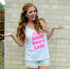 Jeep Hair Don't Care tanks are here! Get yours now at www.brittnicoles.com