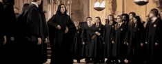 Severus has a beautiful dueling stance.