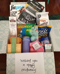 Pregnancy Survival Kit - a great gift for expectant mothers ...