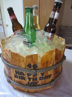 Beer Barrel Cake