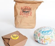 Illegal burger packaging