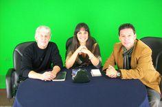 Carlos Guerrero cantante de We All Together, Sara Sara y Ricardo Rondón periodista y actor peruano