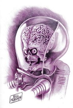Mars Attacks Comic Art