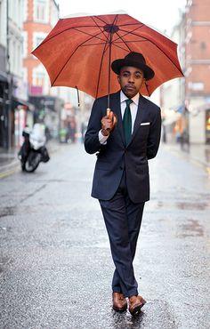 Street Style Photographs by FashionBeans: Nigel Ruwende