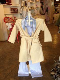 Conjunto de bata y pijama para niños y niñas en  telas liberty y algodones estampados
