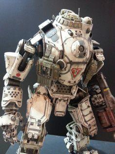 Titanfall: Atlas painted prototype on display at Thailand Toy Expo  #threezero…