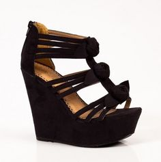 black wedges WANT