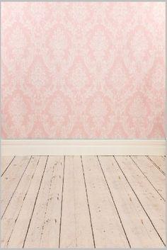 Fovitec Heavy Duty Photography Vinyl Backdrop Background Picturesque White Wood Floor 1.5 metre x 1.5 meter