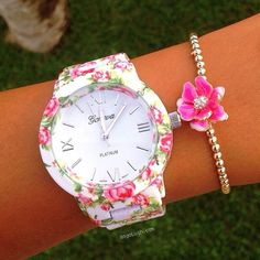 Floral Watch Pictures, Photos,