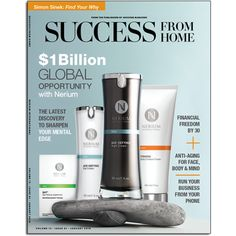 New Success From Home Magazine -Nerium International featured