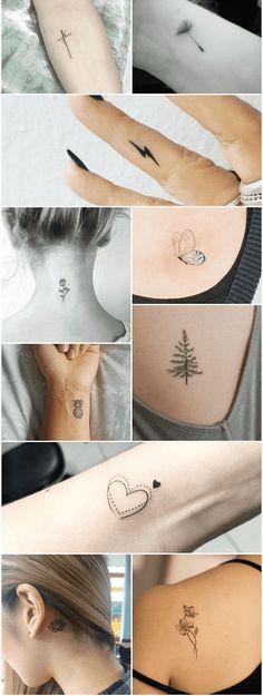 80 Mini Tattoos Ideas to Get You Inspired .- 80 Ideias de Mini Tattoos para você se inspirar 80 Mini Tattoos Ideas to Get Inspired - Small Girly Tattoos, Unique Small Tattoo, Dainty Tattoos, Bff Tattoos, Small Tattoos With Meaning, Tattoos For Women Small, Unique Tattoos, Body Art Tattoos, Hand Tattoos
