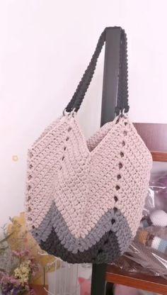 Free Crochet Bag, Crochet Market Bag, Crochet Shell Stitch, Crochet Tote, Crochet Handbags, Bag Pattern Free, Tote Pattern, Crochet Shoulder Bags, Crochet Videos