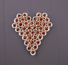 Heart full of flowers sculpture Perfect wall by PamBdesigns, $22.00