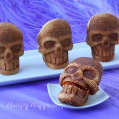Stuffed Pizza Skulls plus a Halloween Giveaway from Wilton