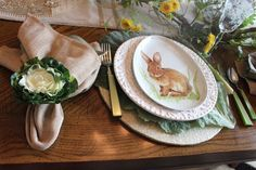 Designs by Pinky: Easter Dining Table