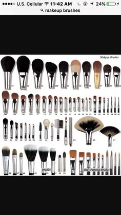More brushes