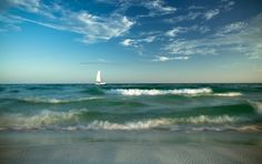 The Emerald Coast of Florida. Destin, Florida.   Copyright Bodhikai Imagery | http://bodhikaiimagery.zenfolio.com #travel #emeraldcoast #destin #vacation #roadtrip #familytravel #budgettravel #sailboat #coastal #beach #beachphotography #landscape #bodhikaiimagery