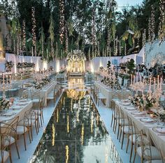 Pink and gold wedding decor xx