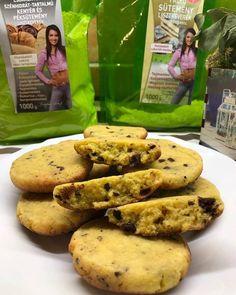 Éhezésmentes karcsúság Szafival - Gluténmentes, tejmentes amerikai cookies Fitt, Paleo Cookies, Desserts, Postres, Deserts, Dessert, Food Deserts