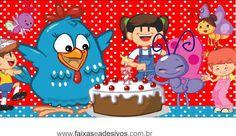 Resultado de imagen para galinha pintadinha aniversario