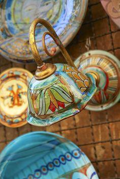 Beautiful Ceramics Made In Orvieto, Umbria, Italy
