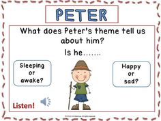 Are you doing a unit on Peter and the Wolf???Check out this set of listening pages!!! CLICK through to read more or Re-PIN for later!